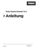 Thule Chariot Cheetah 1 Seite 1