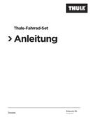 Thule Bicycle Trailer Kit Seite 1
