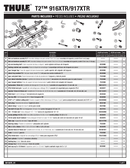 Thule T2-917XTR sayfa 1