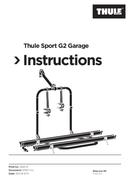 Thule Sport G2 Garage sayfa 1