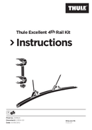Thule Excellent Elite G2 4th Rail Kit Seite 1