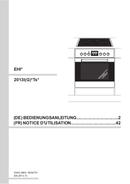 Amica EHI 12552 E page 1