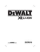 DeWalt DCR016 T 1 side 1