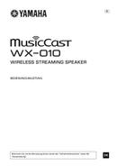 Yamaha MusicCast WX-010 page 1