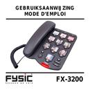 Pagina 1 del Fysic FX-3200