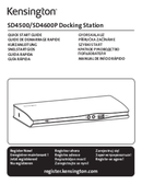 Kensington SD4600P USB-C side 1
