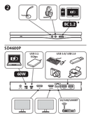 Kensington SD4600P USB-C side 4