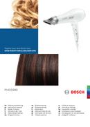 Bosch PHD5999 page 1