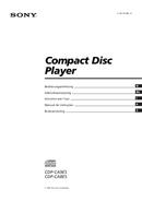 Sony CDP-CA8ES side 1