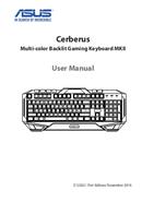 Asus Cerberus Keyboard MKII sivu 1