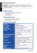 Asus Cerberus Keyboard MKII sivu 2