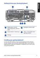 Asus Cerberus Keyboard MKII sivu 3