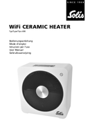 página del Solis WiFi Ceramic Heater 1