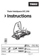 Thule VeloSpace 917 sivu 1