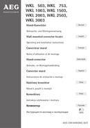 AEG WKL 753 sivu 1