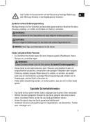 Página 5 do Clatronic MRC 832 P