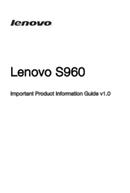 Lenovo S960 sivu 1
