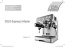Solis Espresso Master 113 pagina 1