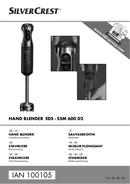 SilverCrest EDS - SSM 600 D2 sivu 1