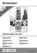 SilverCrest SSM 180 A1 sivu 1