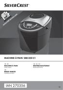 SilverCrest SBB 850 C1 страница 1