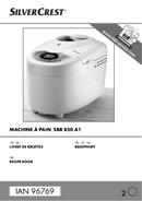 Página 1 do SilverCrest SBB 850 A1