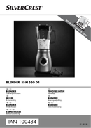 Página 1 do SilverCrest SSM 550 D1