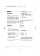 Página 5 do SilverCrest SSM 550 D1