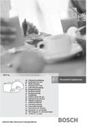 Bosch TAT6505 Seite 1