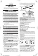 Yamaha NTX900FM page 1
