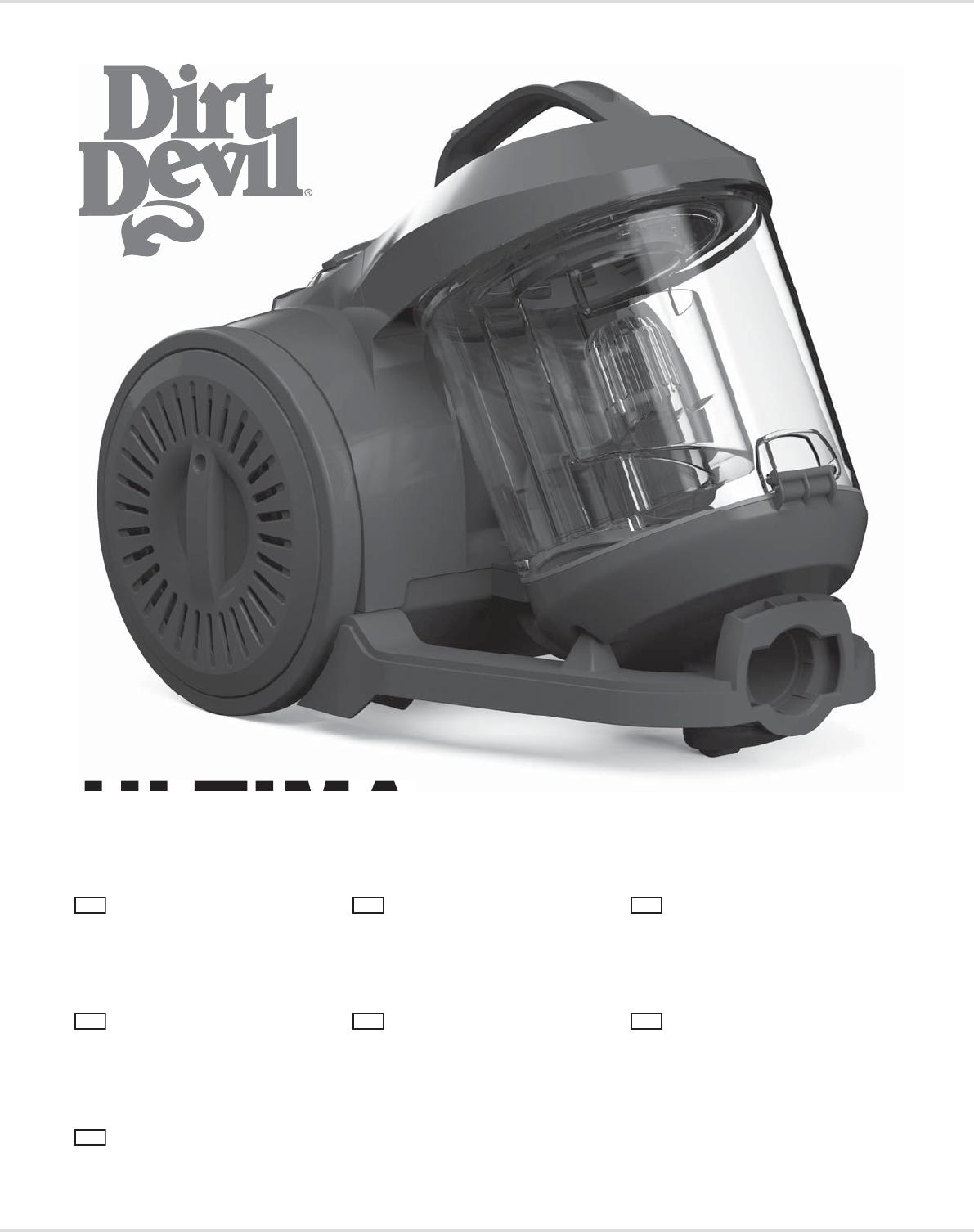 FILTRI per Dirt Devil ultima 3-er ultima Power Parquet