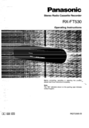 Panasonic RX-FT530 page 1