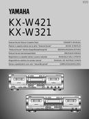 Yamaha KX-W421 sivu 1
