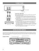 Yamaha KX-W421 sivu 4