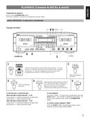 Yamaha KX-W421 sivu 5