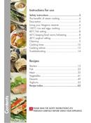 Página 3 do Magimix Ma Cuisine Vapeur
