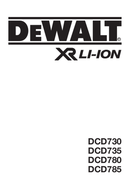 DeWalt DCD730M2 side 1