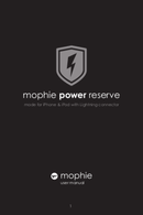 Mophie power reserve page 1