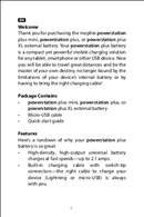 Mophie Powerstation plus XL page 4