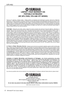 Yamaha PSR-E233 page 2