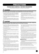 Yamaha PSR-240 page 3