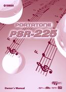 Yamaha PSR-225 page 1