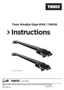 Pagina 1 del Thule WingBar Edge 9584B