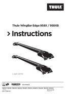 Página 1 do Thule WingBar Edge S