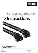 Página 1 do Thule WingBar Edge 959X