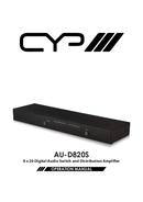 CYP AU-D820S pagina 1