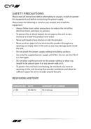 CYP AU-D820S pagina 4