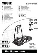 Pagina 1 del Thule EuroPower 916