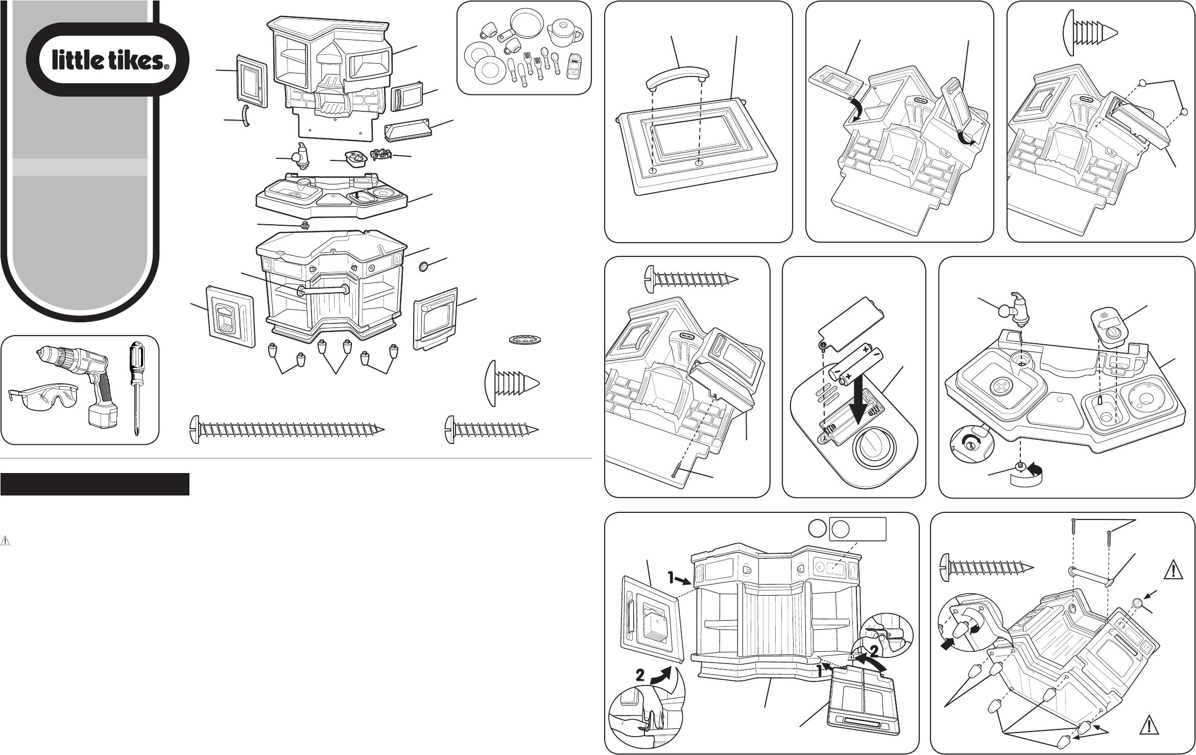 Little Tikes Super Chef Kitchen Manual