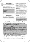 Página 4 do Clatronic FR 3667 H